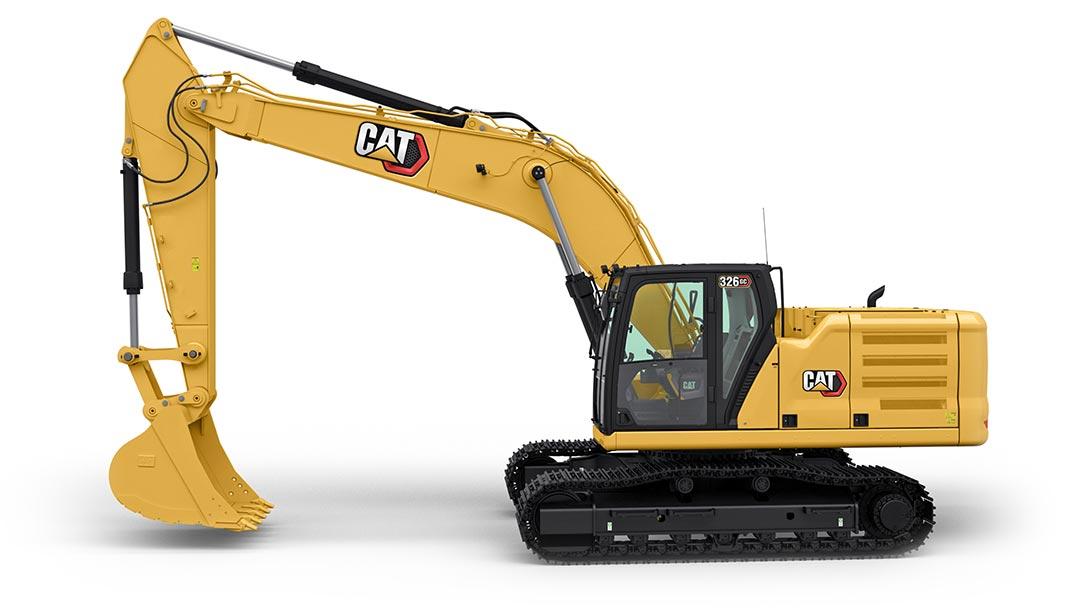 新一代CAT®326 GC 液压挖掘机