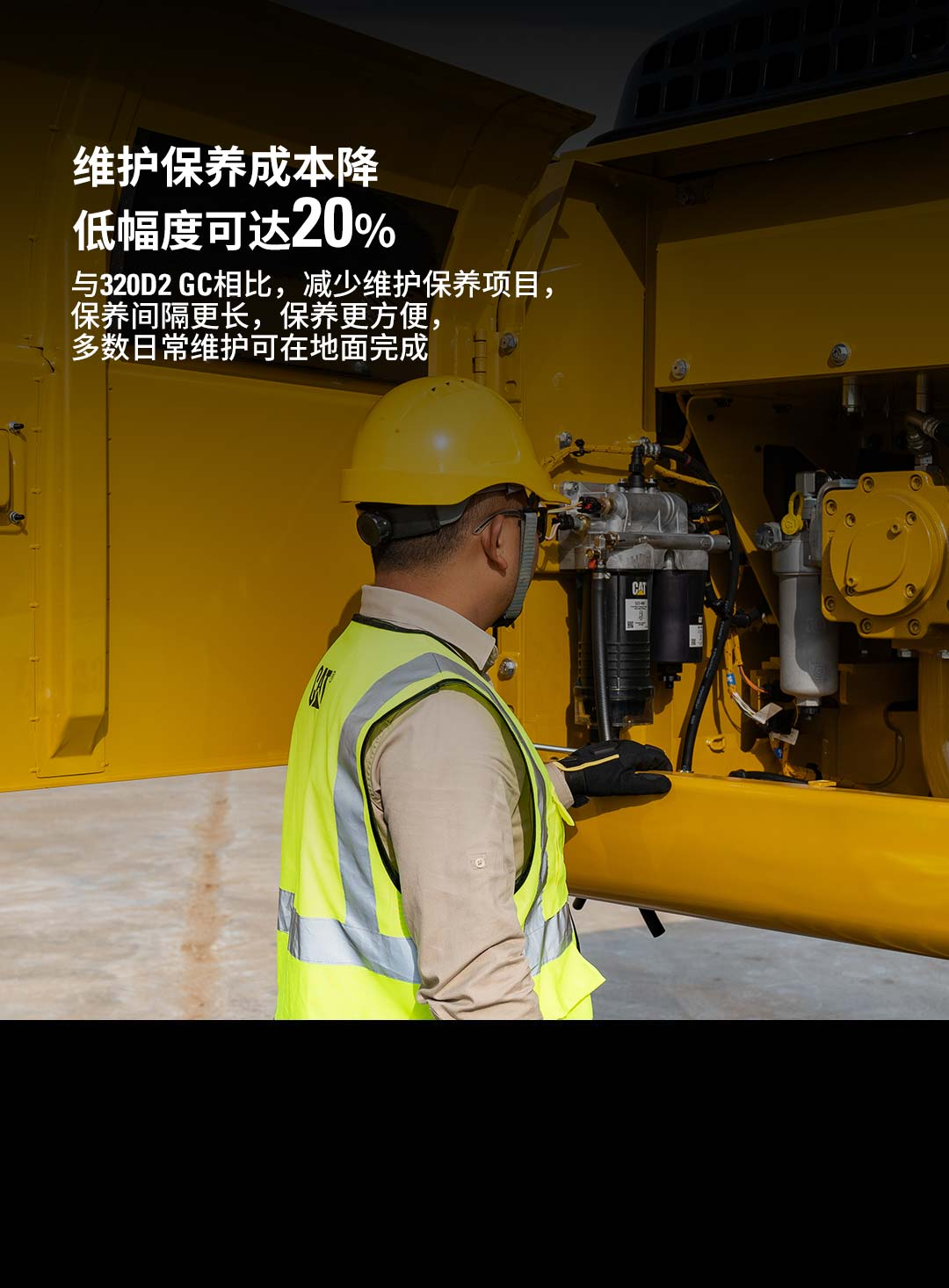 新经典CAT ® 320 GX液压挖掘机