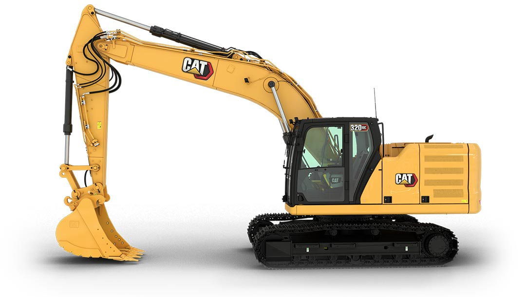 新一代CAT®320 GC 液压挖掘机